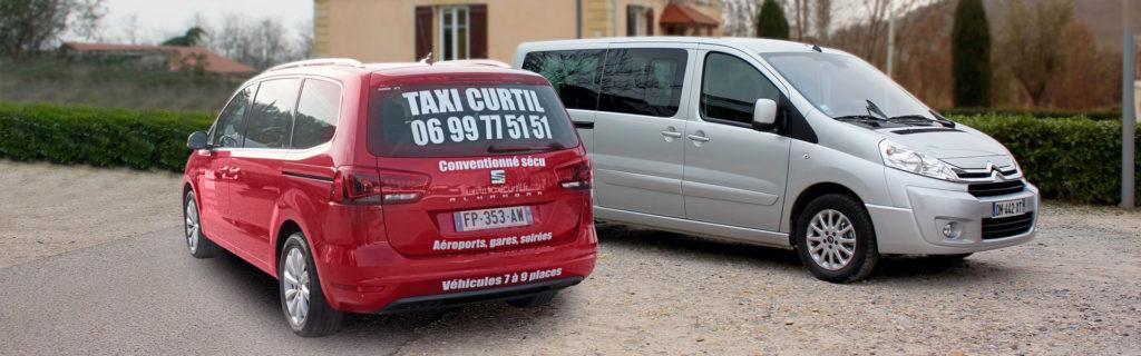 Taxi Curtil : tous vos déplacements à Vienne, Lyon et en Isère